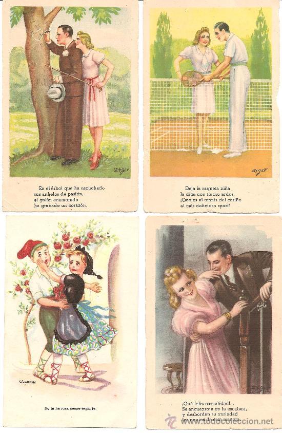 POSTALES MUY BONITAS (Postales - Dibujos y Caricaturas)