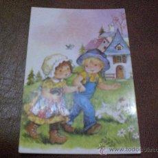 Postales: POSTAL NIÑOS DE PASEO.- AÑOS 1.960-1.970. Lote 16252568