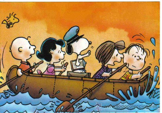 Postales: 3 Postales Snoopy - Foto 2 - 16465444