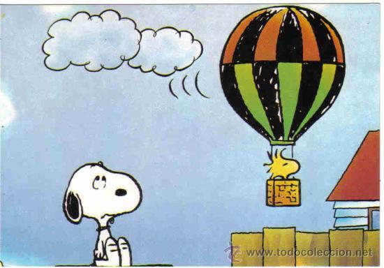 Postales: 3 Postales Snoopy - Foto 3 - 16465444