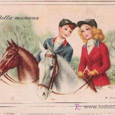 Postales: BELLA MAÑANA - E. FREIXAS - C.Y Z. 815 -. Lote 16676268