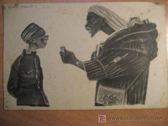 POSTAL EDICIONES BOIX HERMANOS. MELILLA. SIN CIRCULAR (Postales - Dibujos y Caricaturas)