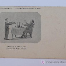 Postales: ALBERT LLANAS, DIBUIXOS DE MODEST URGELL. ANTERIOR A 1905. 8,7 X 13,7 CM.. Lote 17333584