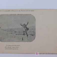 Postales: ALBERT LLANAS, DIBUIXOS DE MODEST URGELL. ANTERIOR A 1905. 8,7 X 13,7 CM.. Lote 17333683