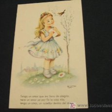 Postales: PRECIOSA POSTAL INFANTIL - MELODIAS EN BOGA - . Lote 17359904