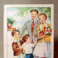 Postales: ANTIGUA POSTAL, Nº 1071, FELICIDADES, ARTIGAS, SIRENITA, GIRONA. Lote 19168488