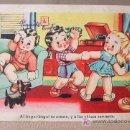 Postales: ANTIGUA POSTAL, CMB, BUGUI BUGUI, NIÑOS, BAILE, SERIE 101. Lote 19198524