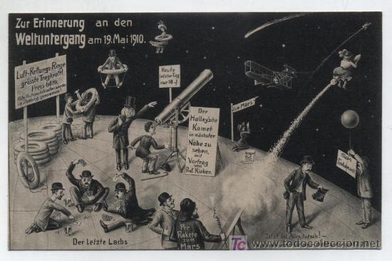 POSTAL SATÍRICA ALEMANA. 1910. (Postales - Dibujos y Caricaturas)