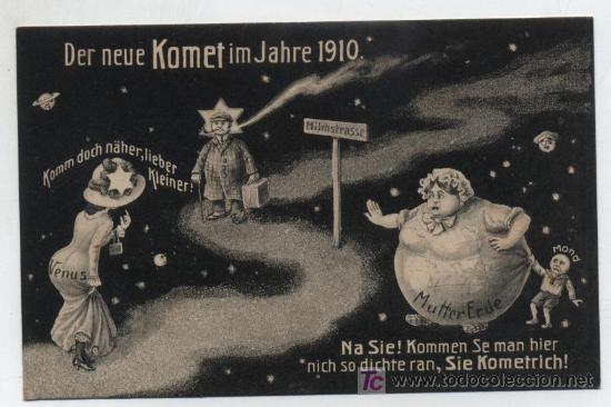 POSTAL SATÍRICA ALEMANA. 1910. ¡IMPECABLE! (Postales - Dibujos y Caricaturas)