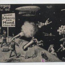 Postales: POSTAL SATÍRICA ALEMANA. 1910. ¡IMPECABLE!. Lote 19163762