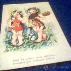 Postales: POSTAL ANTIGUA ESCRITA. AÑO 1945. Lote 21041608