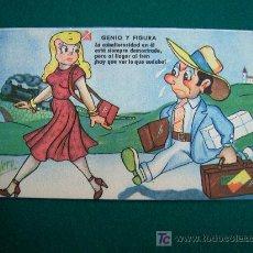 Postales: POSTAL CHISTES AÑOS 50 EDITORIAL ESTAMPERIA RAM BARCELONA. Lote 21225773