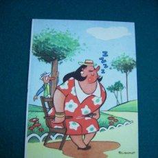 Postales: POSTAL CHISTES AÑOS 50 EDICIONES ESTAMPERIA RAM BARCELONA. Lote 21230509