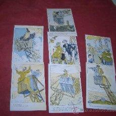 Postales: COLECCION ATALAYA TIBIDABO LOTE 7 POSTALES --CAJA Nº1. Lote 26776121