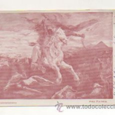 Postales: F. TORRESCASSANA. PRO PATRIA. CIRCULO ARTÍSTICO BARCELONÉS. SERIE AA. CON DEDICATORIA AUTÓGRAFA. . Lote 22209899