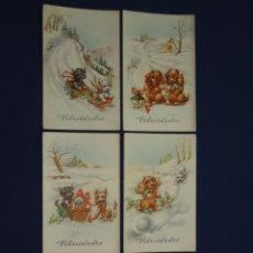 Postales: 5 POSTALES COLECCIÓN C Y Z SERIE 520/A. Lote 22222658