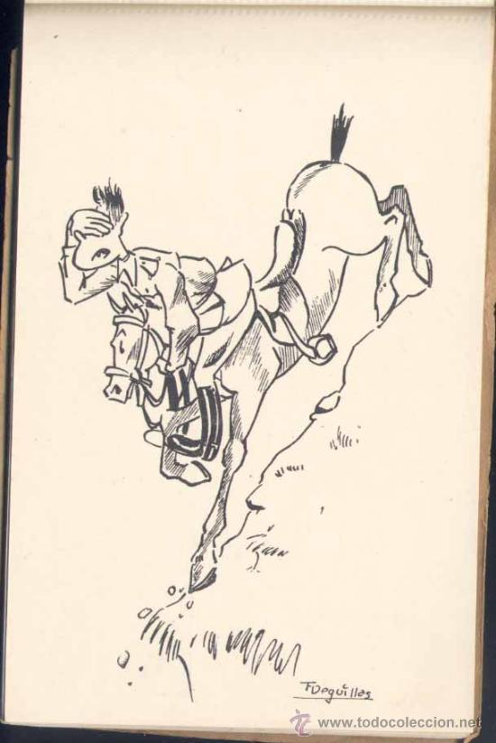Postales: POSTALES HUMORÍSTICAS REALIZADAS POR EL CADETE D. FRANCISCO VEGUILLAS ÉLICES (ASESINADO POR ETA ) - Foto 2 - 22275767