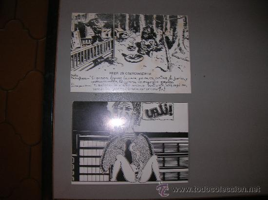 DOS POSTALES PHILIPPE DROILLED (Postales - Dibujos y Caricaturas)