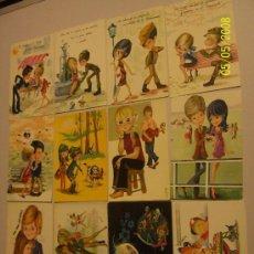 Postales: DOCE POSTALES AÑOS:1969//1970.- 11 USADAS. Lote 23124235