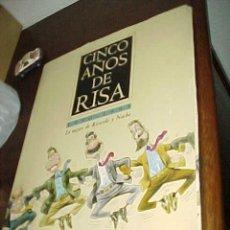 Postales: CINCO AÑOS DE RISA. 1990 - 1995. LO MEJOR DE RICARDO Y NACHO. 23 LAMINAS. CARICATURAS POLITICAS. Lote 23245592
