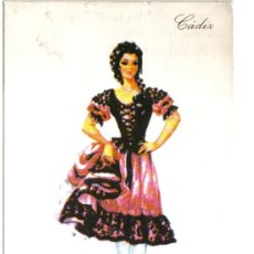 Postales: POSTAL TRAJE REGIONAL CADIZ , PUBLICIDAD REVERSO PRONITOL. Lote 24157836