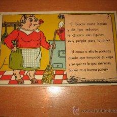 Postales: SI BUSCAS NOVIA BONITA Y DE TIPO SEDUCTOR POSTALES BEA P.E.P.- MADRID. Lote 23591721