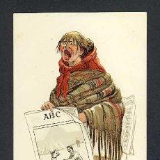 Postales: POSTAL DE UNA SERIE DE POSTALES DE PERIODICOS: ABC. ILUSTRACION DE P.SAGRISTA (NUM.53). Lote 24232132