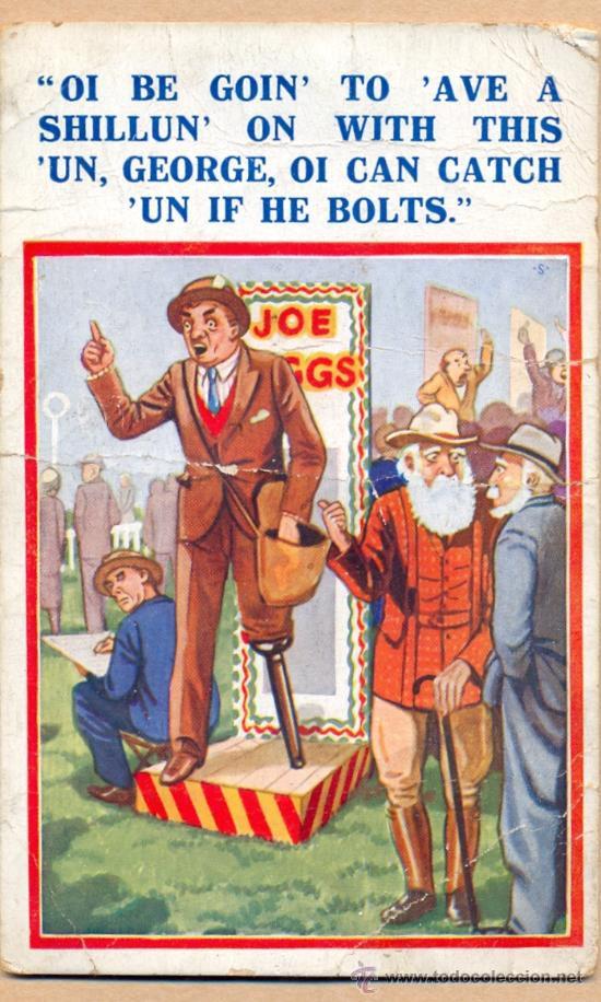 POST 502 - XL SERIES . LONDON Nº A 2103 - POSTAL JOCOSA SOBRE LA POLITICA (Postales - Dibujos y Caricaturas)