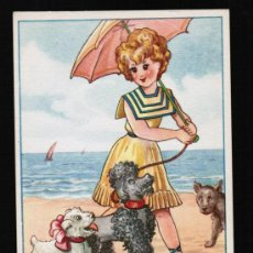 Postales: POSTAL CARICATURA - EDICIONES PABLO DUMMATXEN SERIE 1551. Lote 24940344