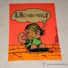 Postales: POSTAL EN PLASTICO FLEXIBLE ( ¿ .... NO HAY MAS ... ? ) , PUBLICOR , S.A- BARCELONA 1985 . USADA .. Lote 26484498