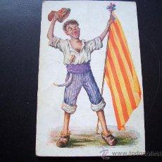 Postales: POSTAL J IBAÑEZ ILUSTRADA CARICATURA PATRIOTICA AÑOS 1920 EDICIONES VICTORIA COLL SALIEN BARCELLONA. Lote 25742196