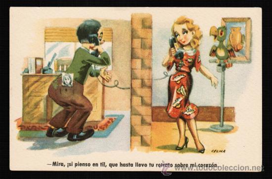 POSTAL ILUSTRADA POR CELMA. SERIE 71 - ESTAMPERIA RAM (Postales - Dibujos y Caricaturas)