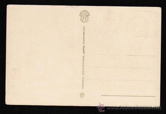 Postales: POSTAL ILUSTRADA POR CELMA. SERIE 40 - ESTAMPERIA RAM - Foto 2 - 25902765