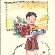 Postales: 5479 - POSTAL SIRENITA -SERIE 1036 - ED. DE ARTE- ARTIGAS CON PURPURINAS - ILUSTRADOR GIRONA. Lote 26158359