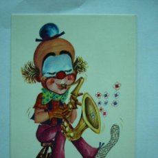 Postales: POSTAL DIBUJO CHUP. CIRCO. VIKINGO. ESCRITA Y CIRCULADA. Lote 27306441