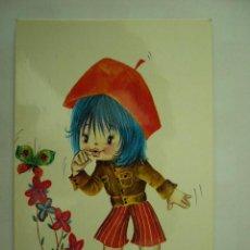 Postales: POSTAL DIBUJO CHUP. VIKINGO. ESCRITA Y CIRCULADA. Lote 27312002