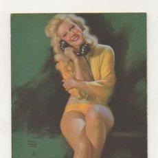 Postales: POSTAL ILUSTRADA POR 'EARL MORAN'. MUJER. . Lote 27656826