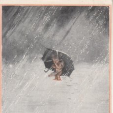 Postales: CUPID SEARCHING FOR A HOME.W,HEATH ROBINSON.BEAGLES POST CARD.. Lote 27579351
