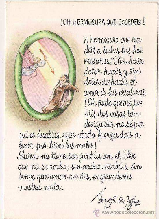 28789 Postal Dibujo Santa Teresa De Jesus Vendido En Venta