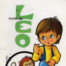 Postales: POSTAL HOROSCOPO LEO BERGAS ESCRITA CIRCULADA SELLO. Lote 27901771