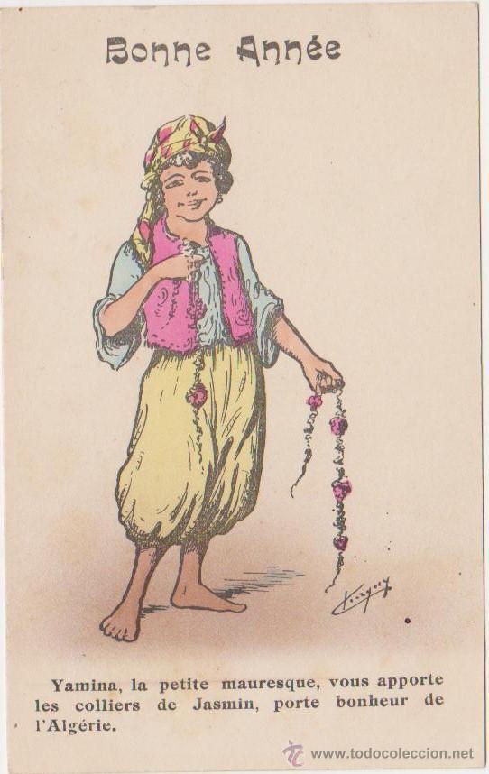 BONNE ANNEE (Postales - Dibujos y Caricaturas)