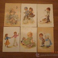 Postales: 15 POSTALES ILUSTRADAS CANSTANZA. Lote 28455319