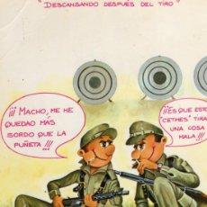 Postales: POSTAL DIBUJOS Y CARICATURAS EDICIONES CYZ ESCRITA CIRCULADA SELLO. Lote 28857063