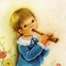 Postales: POSTAL MUSICIENS Nº4 ESCRITA CIRCULADA SELLO EDICIONES BERGAS . Lote 28878063