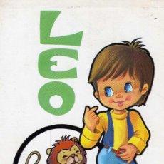 Postales: POSTAL HORÓSCOPO LEO ESCRITA CIRCULADA SELLO EDICIONES BERGAS . Lote 28926668