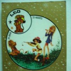 Postales: POSTAL ILUSTRADA LEO. CREACIONES. ESCRITA Y CIRCULADA. Lote 29133613