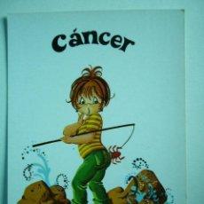 Postales: POSTAL ILUSTRADA CANCER. CERBER. ESCRITA. Lote 29196952