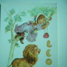 Postales: POSTAL ILUSTRADA LEO. CYZ. ESCRITA Y CIRCULADA. Lote 29197376