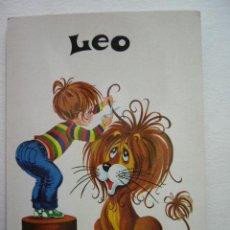 Postales: POSTAL ILUSTRADA. LEO. Lote 29255776