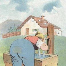 Postales: CAMPESINA CULONA. POSTAL ALEMANA, COLORES, SIN CIRCULAR, C. 1910. . Lote 29414090